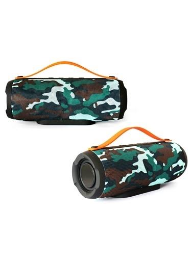 Platoon PL-4305 Bluetooth Speaker Fm/Sd/Usb Renkli